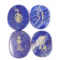 Reiki symbol stones Lapis lazuli