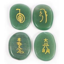 Reiki symbol stones Aventurine