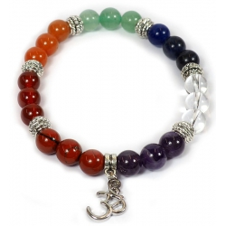 7 Chakra bracelet with OHM