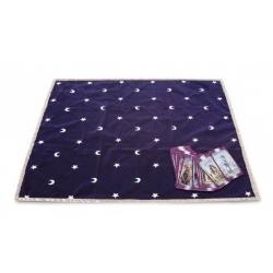 Tarot cloth Moon and Stars